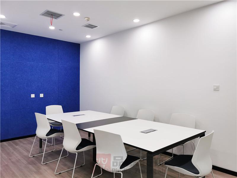 美林律师事务所办公室会议室装修实景图