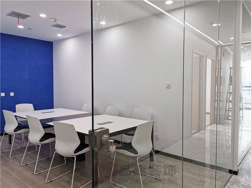 美林律师事务所会议室装修实景图
