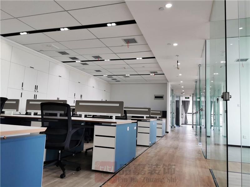 美林律师事务所办公室大厅装修实景图