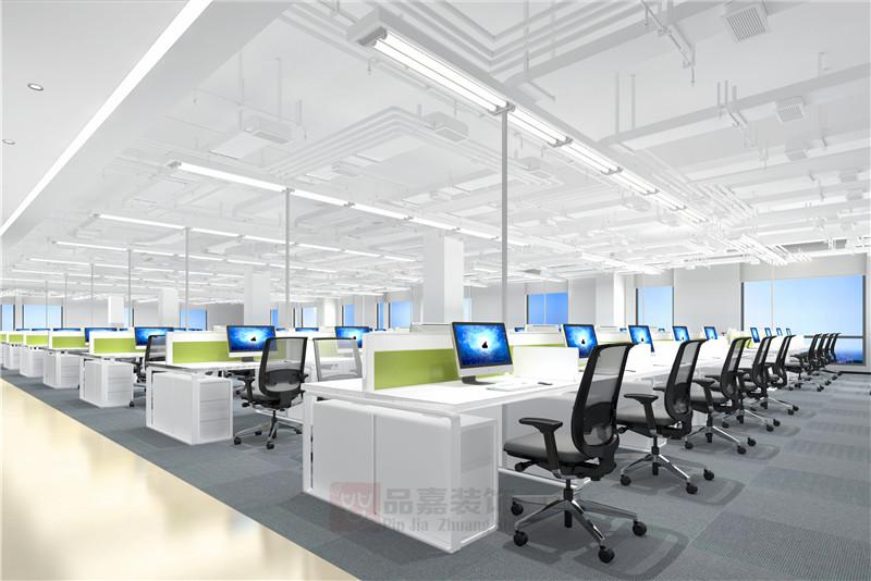 办公室大厅装修效果图